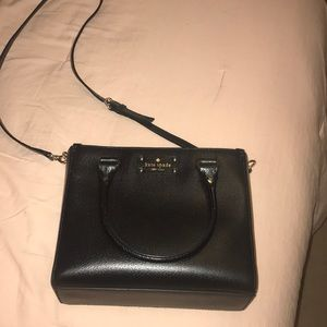 Kate spare black shoulder purse